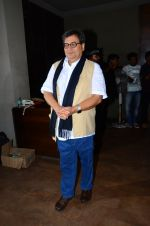 Subhash Ghai at Neerja Screening in Mumbai on 15th Feb 2016