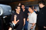 Sunil Gavaskar, Karan Johar at Neerja Screening in Mumbai on 15th Feb 2016