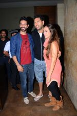 Yuvraj Singh, Hazel Keech at Neerja Screening in Mumbai on 15th Feb 2016