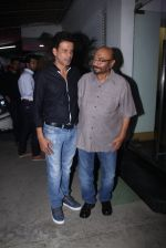 Manoj Bajpai, Govind Nihalani at Aligargh screening in Mumbai on 16th Feb 2016