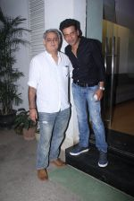 Manoj Bajpai, Hansal Mehta at Aligargh screening in Mumbai on 16th Feb 2016