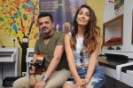 Monica Dogra and Ehsaan Noorani with kids of  Akanksha Foundation at event organised by COLORS Infinity and FSM_56c41a8dbc8ef.JPG