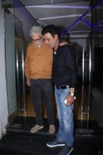 Naseeruddin Shah, Manoj Bajpai at Aligargh screening in Mumbai on 16th Feb 2016