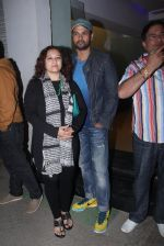 Rohit Roy, Manasi Joshi Roy at Aligargh screening in Mumbai on 16th Feb 2016