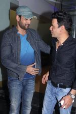 Rohit Roy, Manoj Bajpai at Aligargh screening in Mumbai on 16th Feb 2016