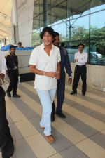 Chunky Pandey snapped at airport on 17th Feb 2016