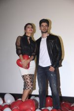 Jacqueline Fernandez, Sooraj Pancholi at the launch of GF BF song on 17th Feb 2016