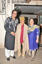Khayyam Saab celebrating his 90th Birthday with Talat Aziz  and Bina Aziz  (4)_56c57b89ce460.JPG