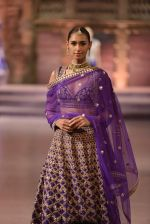 Model walk the ramp for Anita Dongre Show at Make in India show at Prince of Wales Musuem with latest Bridal Couture in Mumbai on 17th Feb 2016