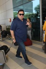 Rishi Kapoor snapped at airport on 17th Feb 2016