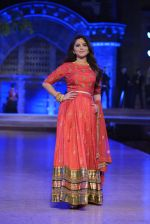 Sonalee Kulkarni walk the ramp for Neeta Lulla Show at Make in India show at Prince of Wales Musuem with latest Bridal Couture in Mumbai on 17th Feb 2016 (18)_56c57848501f4.JPG