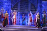 Sonali Bendre walk the ramp for Shaina NC Show at Make in India show at Prince of Wales Musuem with latest Bridal Couture in Mumbai on 17th Feb 2016 (52)_56c57968f4038.JPG