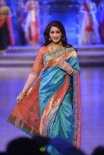 Sonali Bendre walk the ramp for Shaina NC Show at Make in India show at Prince of Wales Musuem with latest Bridal Couture in Mumbai on 17th Feb 2016 (57)_56c5796d7facf.JPG