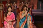 Sonali Bendre walk the ramp for Shaina NC Show at Make in India show at Prince of Wales Musuem with latest Bridal Couture in Mumbai on 17th Feb 2016 (61)_56c57970c0d6b.JPG