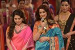 Sonali Bendre walk the ramp for Shaina NC Show at Make in India show at Prince of Wales Musuem with latest Bridal Couture in Mumbai on 17th Feb 2016 (62)_56c5797184bf1.JPG