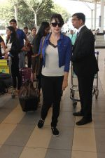 Yuvika Chaudhary snapped at airport on 17th Feb 2016