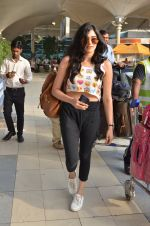 Adah Sharma snapped at airport in Mumbai on 18th Feb 2016