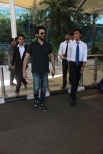 Anil Kapoor snapped at airport in Mumbai on 18th Feb 2016