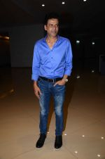 Manoj Bajpai at Aligargh screening in Mumbai on 18th Feb 2016