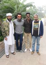 Praduman Singh, Manish paul, Sikander Kher & Abhishek Sharma promote Bin Laden in Delhi on 18th Feb 2016 (4)_56c6e7f633125.jpg