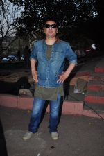 Sajid Nadiadwala on location of film Baaghi on 18th Feb 2016