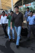 Saurabh Ganguly snapped at airport in Mumbai on 18th Feb 2016