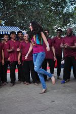 Shraddha Kapoor on location of film Baaghi on 18th Feb 2016