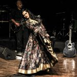 Sona Mohapatra in Rohit Bal at NCPA Concert for ngo on 18th Feb 2016