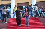 Tiger Shroff and Shraddha Kapoor on location of film Baaghi on 18th Feb 2016 (2)_56c6eea0448ec.JPG