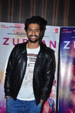 Vicky Kaushal at Zubaan screening in Mumbai on 18th Feb 2016