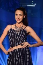 Alecia Raut walks for Arabella label Fashion Show in Mumbai on 19th Feb 2016