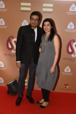 Jitish Kallat with wife at Rahul Bose auction Event on 19th Feb 2016