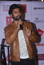 Vicky Kaushal at Zubaan concert in Mumbai on 19th Feb 2016