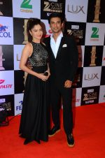 Ankita Lokhande, Sushant Singh Rajput at zee cine awards 2016 on 20th Feb 2016 (389)_56c99589bb43c.JPG