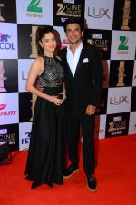 Ankita Lokhande, Sushant Singh Rajput at zee cine awards 2016 on 20th Feb 2016