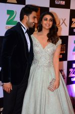 Parineeti Chopra, Ranveer Singh at zee cine awards 2016 on 20th Feb 2016
