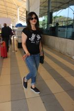 Zarine Khan snapped at Airport on 20th Feb 2016