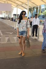 Adah Sharma snapped at airport on 21st Feb 2016