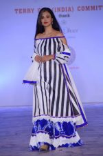 Model walk for Maheka Mirpuri show in support of Terry Fox run in Mumbai on 21st Feb 2016