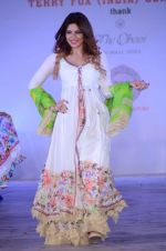 Shama Sikander walk for Maheka Mirpuri show in support of Terry Fox run in Mumbai on 21st Feb 2016