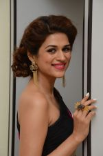Shraddha Das wearing a Gavin Miguel from M the store at the audio launch of her movie Guntur Talk on 21st Feb 2016 (1)_56cab1408c0ed.JPG