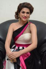 Shraddha Das wearing a Gavin Miguel from M the store at the audio launch of her movie Guntur Talk on 21st Feb 2016 (42)_56cab0d339c54.JPG