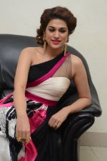 Shraddha Das wearing a Gavin Miguel from M the store at the audio launch of her movie Guntur Talk on 21st Feb 2016