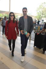 Sunny Leone snapped at airport on 21st Feb 2016