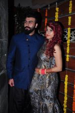 Aarya Babbar marries girlfriend Jasmine Puri on 22nd Feb 2016 (12)_56cc02ef6eb8a.JPG