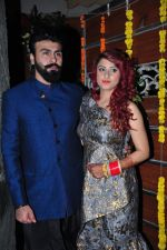 Aarya Babbar marries girlfriend Jasmine Puri on 22nd Feb 2016 (4)_56cc02e4e3738.JPG