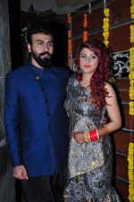 Aarya Babbar marries girlfriend Jasmine Puri on 22nd Feb 2016 (5)_56cc02e5c7145.JPG