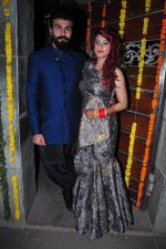 Aarya Babbar marries girlfriend Jasmine Puri on 22nd Feb 2016 (9)_56cc02ea3a85f.JPG
