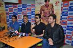 Prakash Jha, Salim Merchant, Sulaiman Merchant, Manav Kaul  at Jai Gangaajal song launch in Mumbai on 22nd Feb 2016 (26)_56cc04da17eb7.JPG