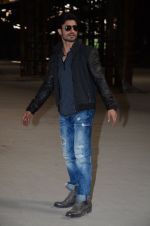 Vidyut Jamwal at Commondo 2 location in Mumbai on 22nd Feb 2016